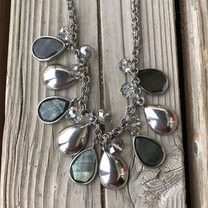 Stunning WHBM Silver Statement Necklace!